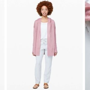 Lululemon Calm and Collected Wrap Heathered Mauve